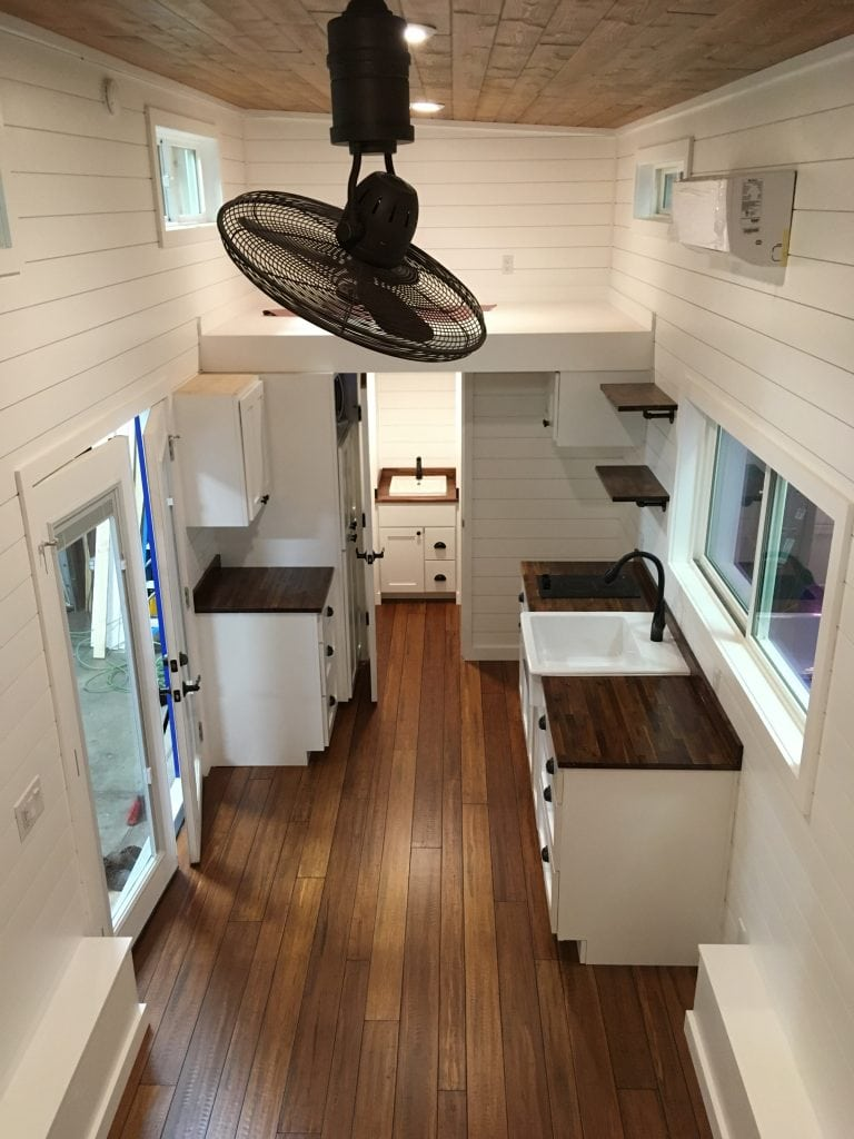 American Tiny House Interior - Contact Us